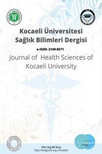 Kocaeli Üniversitesi Sağlık Bilimleri Dergisi