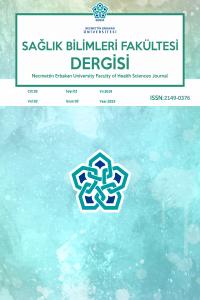 Necmettin Erbakan University  Faculty of Health Sciences Journal